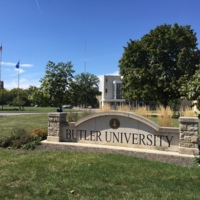 Butler Entrance Sign