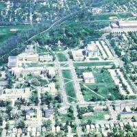 Aerial View of Butler University from the South