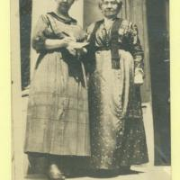 Emma Colbert (left) and Eliza A. Blaker (right)