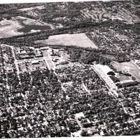 Aerial View of Butler University from the East