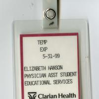Clarian Health Temporary Identification