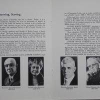 Program for the Dedication of The Irwin Library Butler University May 1, 1965