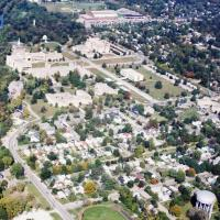 Aerial View of Butler University from the South West