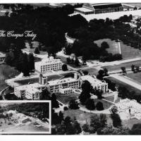 Aerial View of Butler University in 1927 and 1953