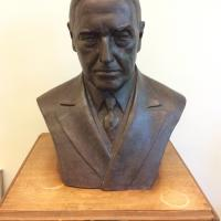 Bust of Hilton U. Brown