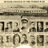 Butler College In The World War [Review]